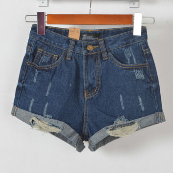 2016 Fashion Sexy Women Shorts Denim Shorts Casual Women Shorts = 4824004100