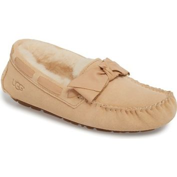 UGG® Dakota Bow Slipper (Women) | Nordstrom