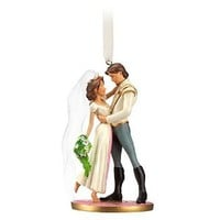Disney Tangled Flynn Rider and Rapunzel Sketchbook Ornament