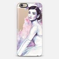 Audrey Hepburn iPhone 6 case by Tatiana Maranhao | Casetify