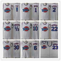 Space Jam Tune Squad Movie Duck TAZ Bugs Bunny Tweety Bird Lola Bunny  jordan jersey