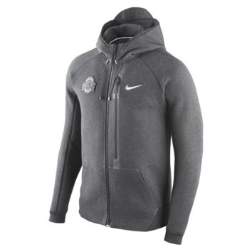 Nike Diamond Quest Tech Fleece Full-Zip (Ohio State) Men's Hoodie