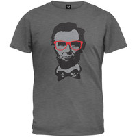 Abraham Lincoln Geek Glasses T-Shirt