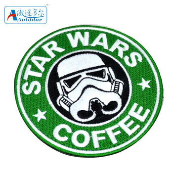 Star Wars StarWarsCoffee badge armbands white pawn Empire assault soldiers storm Patches