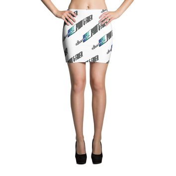 Elevens' P&F White Mini Skirt