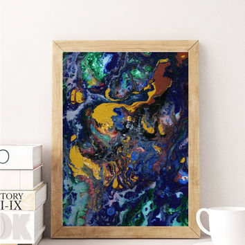 Abstract Painting Art Poster Art Print Canvas Print Wall Decor Canvas Poster Print Digital Print Designer Art Painting Wall Art Home Gift