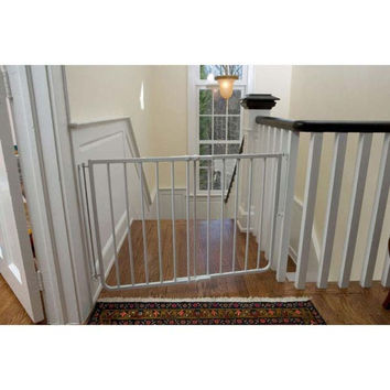 Cardinal Gates SS30A-W Stairway Special Hardware Mounted Pet Gate