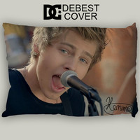 Luke Hemmings Singing Pillow Case In 20 x 30 Inches