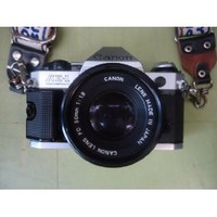 Canon AE-1 35mm SLR Manual Focus Camera w/ FD 50mm lens