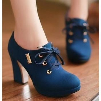 3 Color Women High Heel Half Short Ankle Boots Office Winter Snow Boot Sweet Quality Footwear Warm Botas Shoes EUR Size 32-43 [8238485895]