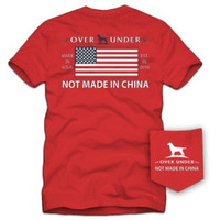 Youth Not Made in China - Regatta Red