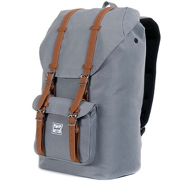 ec796ddfac5 Little America Backpack in Grey by Herschel Supply Co.