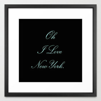 Typography Print - Canvas Art - Breakfast at Tiffany's - Quotes - Typography - Home Decor -  Wall Decor - New York City - Tiffany Blue