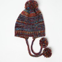 Billabong Love Storm Pom Pom Beanie - Womens Hat - Multi - One