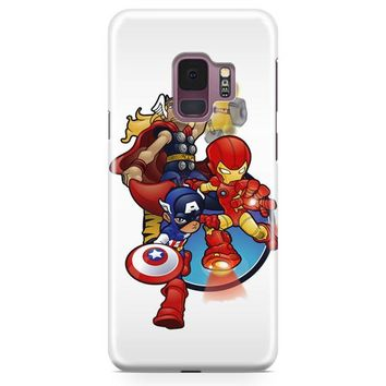 Thor Iron Man And Captain America Samsung Galaxy S9 Case | Casefantasy