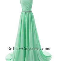 Light Green Prom Dresses 2016, Elegant Evening Gowns, Bridesmaid Dresses