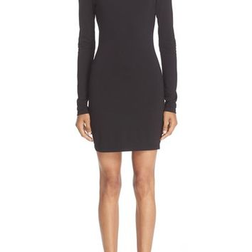 T by Alexander Wang 'The Lux' Ponte Knit Off the Shoulder Sheath Dress | Nordstrom