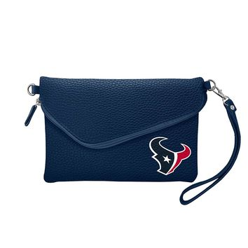 Houston Texans Tailgate Pebble Purse