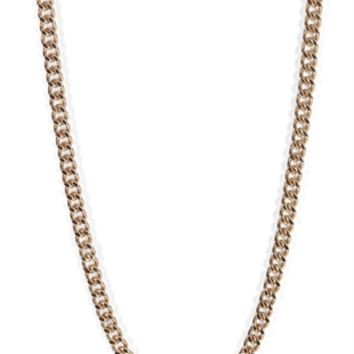 Long Chunky Chain Necklace