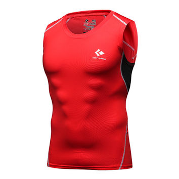 Cody Lundin Multi Colors  Tank Tops Men's Compression Tight Sleeveless Shirt Males Homme Fitness Tees