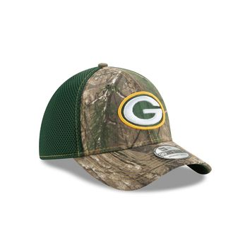 Green Bay Packers 39THIRTY RealTree Neo Flex Fit Hat