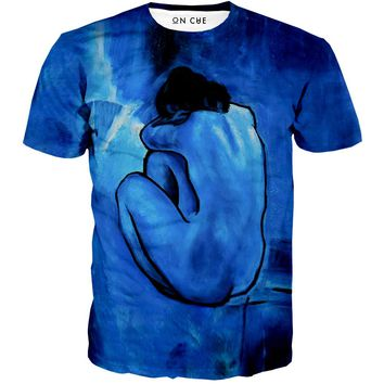 Blue Nude T-Shirt
