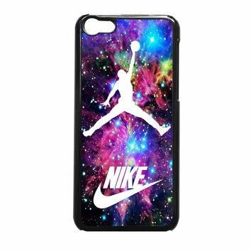 Michael Jordan On Galaxy Nebula New Custom iPhone 5c Case
