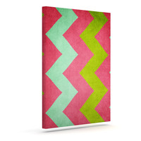 """Catherine McDonald """"Cocktails with Lilly"""" Outdoor Canvas Wall Art"""