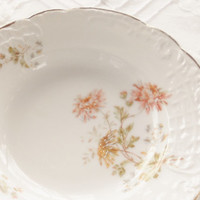 Elegant Tea Party Antique German Berry Bowls, Set of 6, Cottage Style, C.T., Ca. 1800's