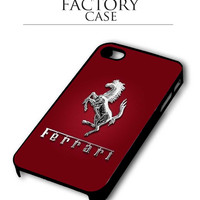 Ferrari Red iPhone for 4 5 5c 6 Plus Case, Samsung Galaxy for S3 S4 S5 Note 3 4 Case, iPod for 4 5 Case