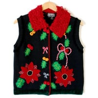 The Vest With The Chest Is The Best Ugly Christmas Sweater Vest