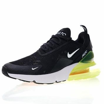 "Nike air max 270 betrue ""Black & Green"" Running Shoes AH6789-018"