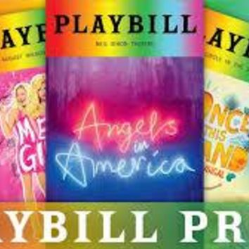 Pride Playbills June 2018