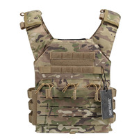 Tactical Laser-Cut JPC Vest Light-Weight MOLLE Special Plate Carrier