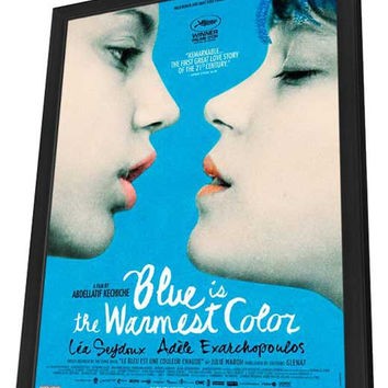 Blue is the Warmest Color (Canadian) 11x17 Framed Movie Poster (2013)