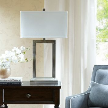 Madison Park Signature Audrey Silver Table Lamp | Overstock.com Shopping - The Best Deals on Table Lamps