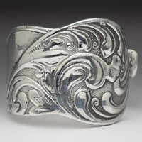 Silver Spoon Silver Plate Gloria Spoon Ring