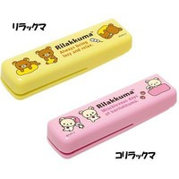 Flat Stapler San-x Rilakkuma (yellow) From Japan