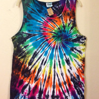 Men's Tie Dye Tank Top