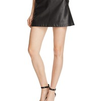 JoieMayfair Leather Skirt