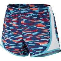 Nike Girls' Tempo Allover Printed Running Shorts