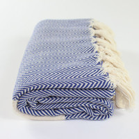 Herringbone Peshtemal, Turkish Beach Towel,