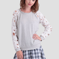 Jeanette Lace Sweater