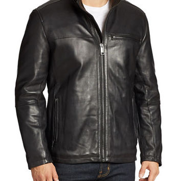 Andrew Marc Slade Leather Jacket