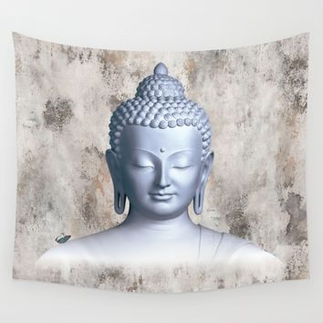 Μy inner Buddha Wall Tapestry by Azima
