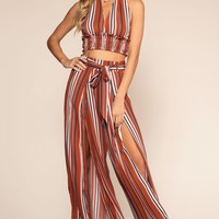 Kira Striped Pants