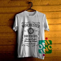 Supernatural The Winchesters Brothers Tshirt For Men / Women Shirt Color Tees