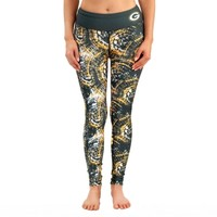 Green Bay Packers Women's Thematic Print Leggings