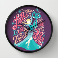Frozen: Let It Go Wall Clock by Risa Rodil