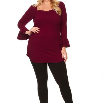 Faye Sweetheart Tunic
